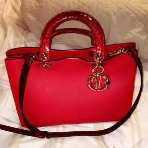 Slightly used authentic Christian Dior Handbag